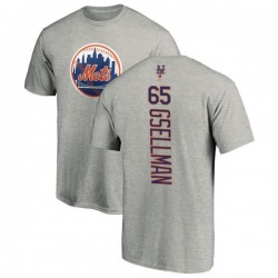 Men's Robert Gsellman New York Mets Backer T-Shirt - Ash