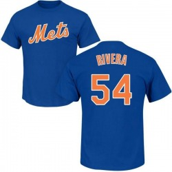 Men's T.J. Rivera New York Mets Roster Name & Number T-Shirt - Royal