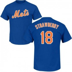 Youth Darryl Strawberry New York Mets Roster Name & Number T-Shirt - Royal