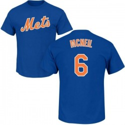 Youth Jeff McNeil New York Mets Roster Name & Number T-Shirt - Royal