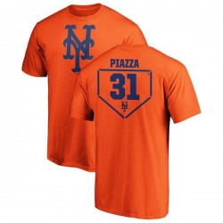 Youth Mike Piazza New York Mets RBI T-Shirt - Orange