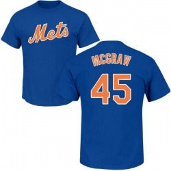 Youth Tug McGraw New York Mets Roster Name & Number T-Shirt - Royal